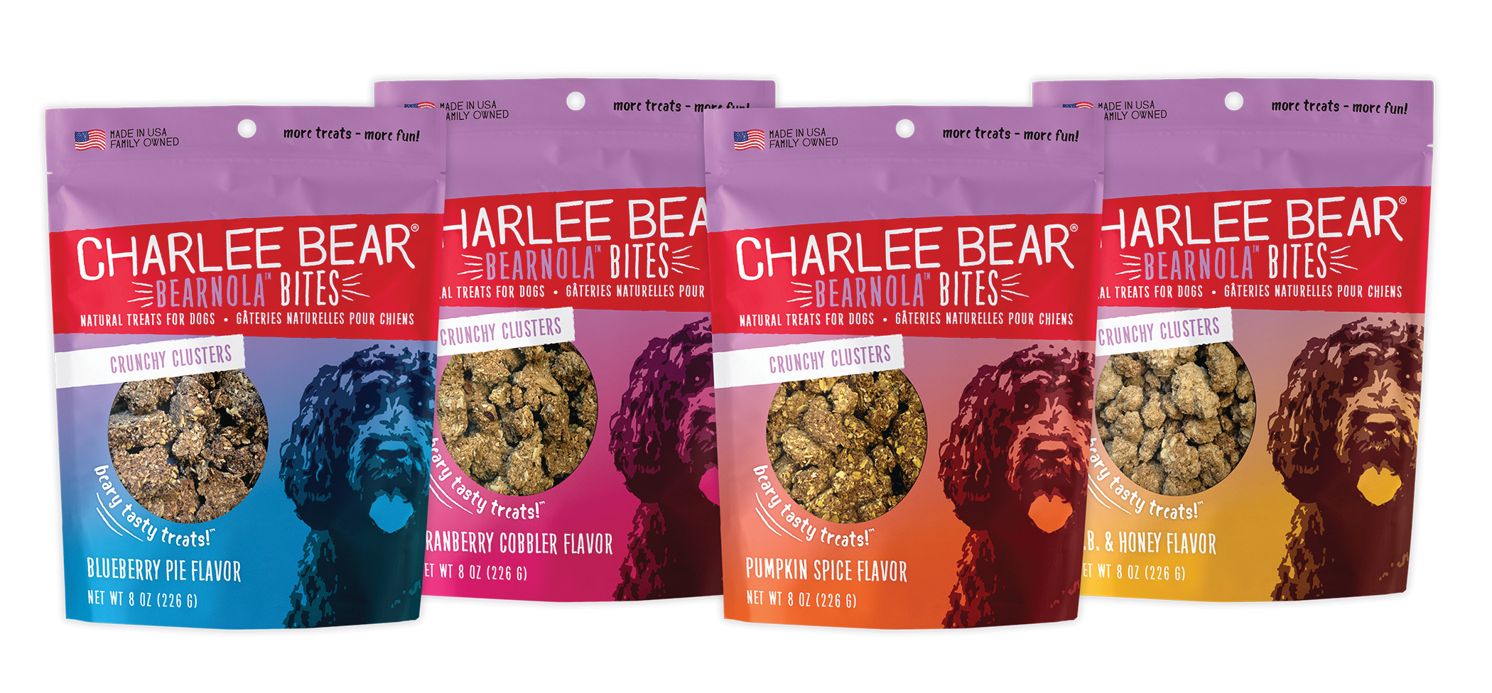 Charlee Bear Announces Bearnola Bites' SuperZoo Debut