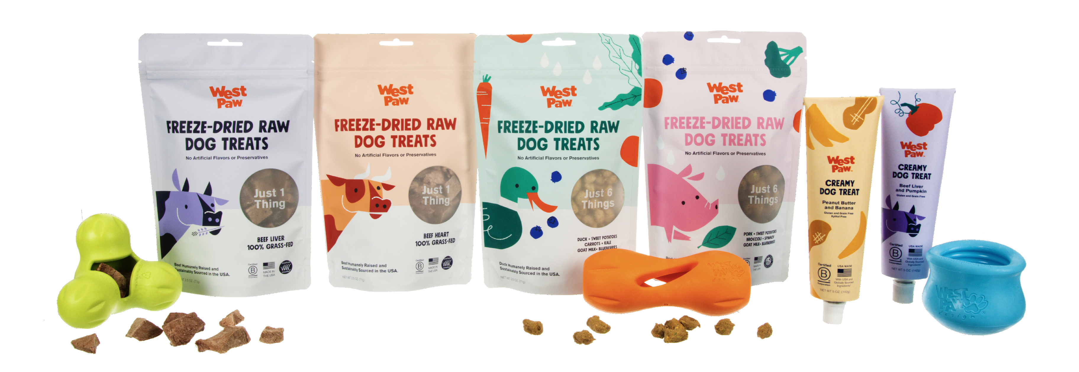 West Paw Announces Creamy Treats for Dogs
