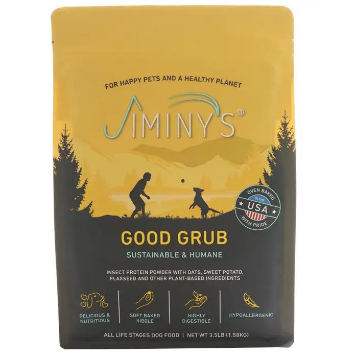 An image of Jiminy's - Good Grub - 3.5 lbs Bag