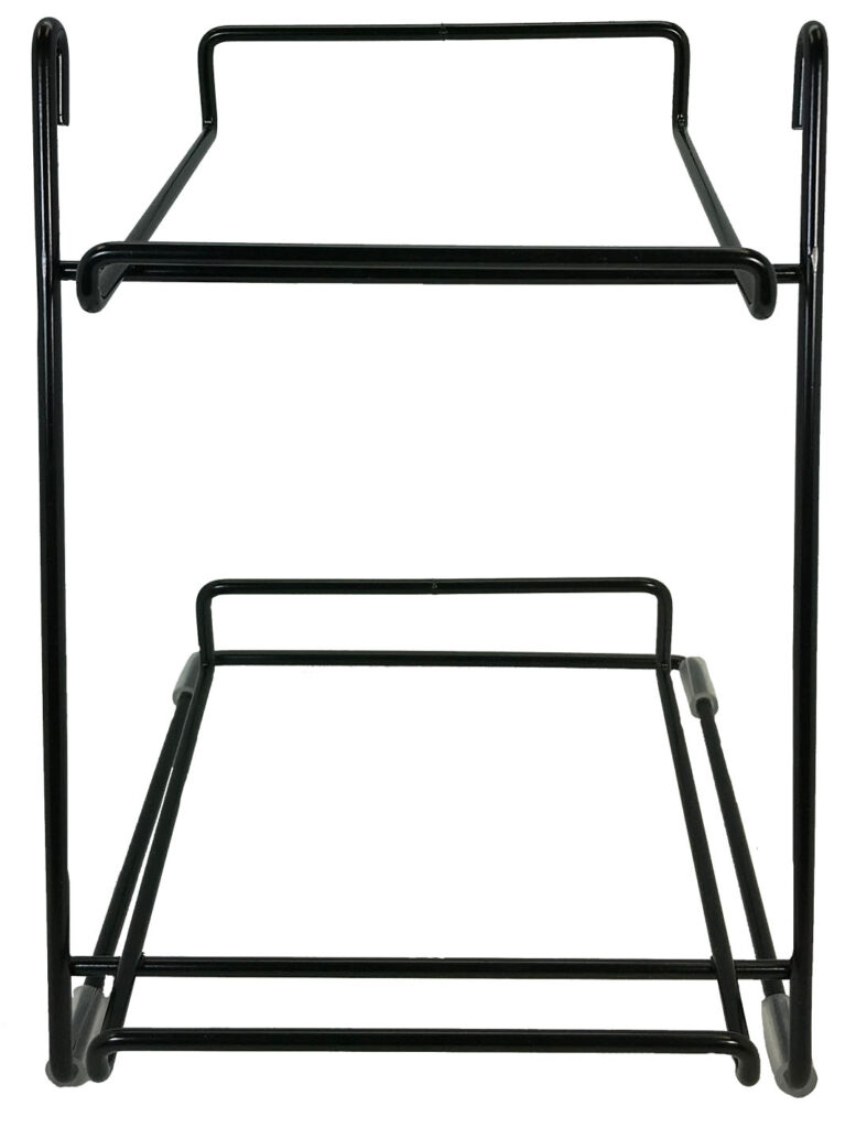 An image of Treat Planet - Wire Rack – 2 TIER - For Bakery Bones and Deli Bar and Links