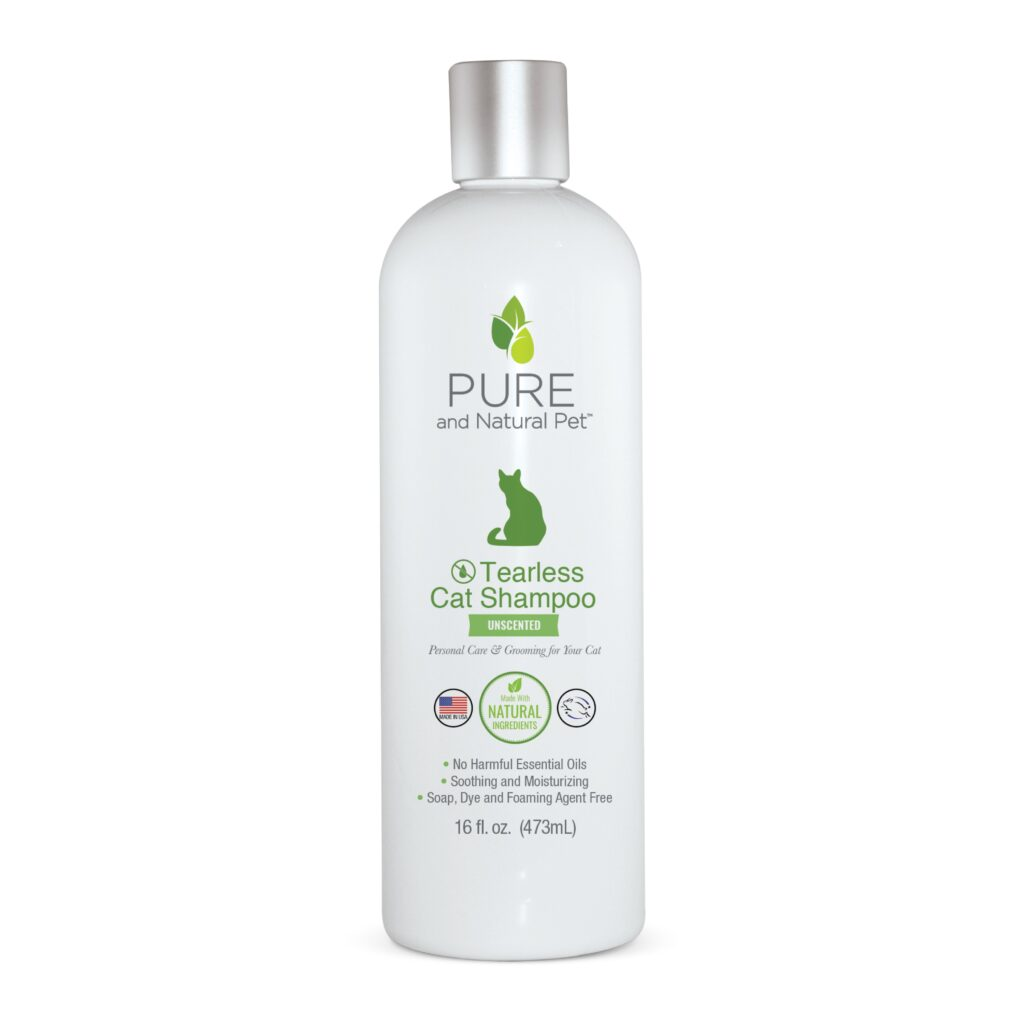 An image of Pure and Natural Pet® - Tearless Cat Shampoo - Unscented