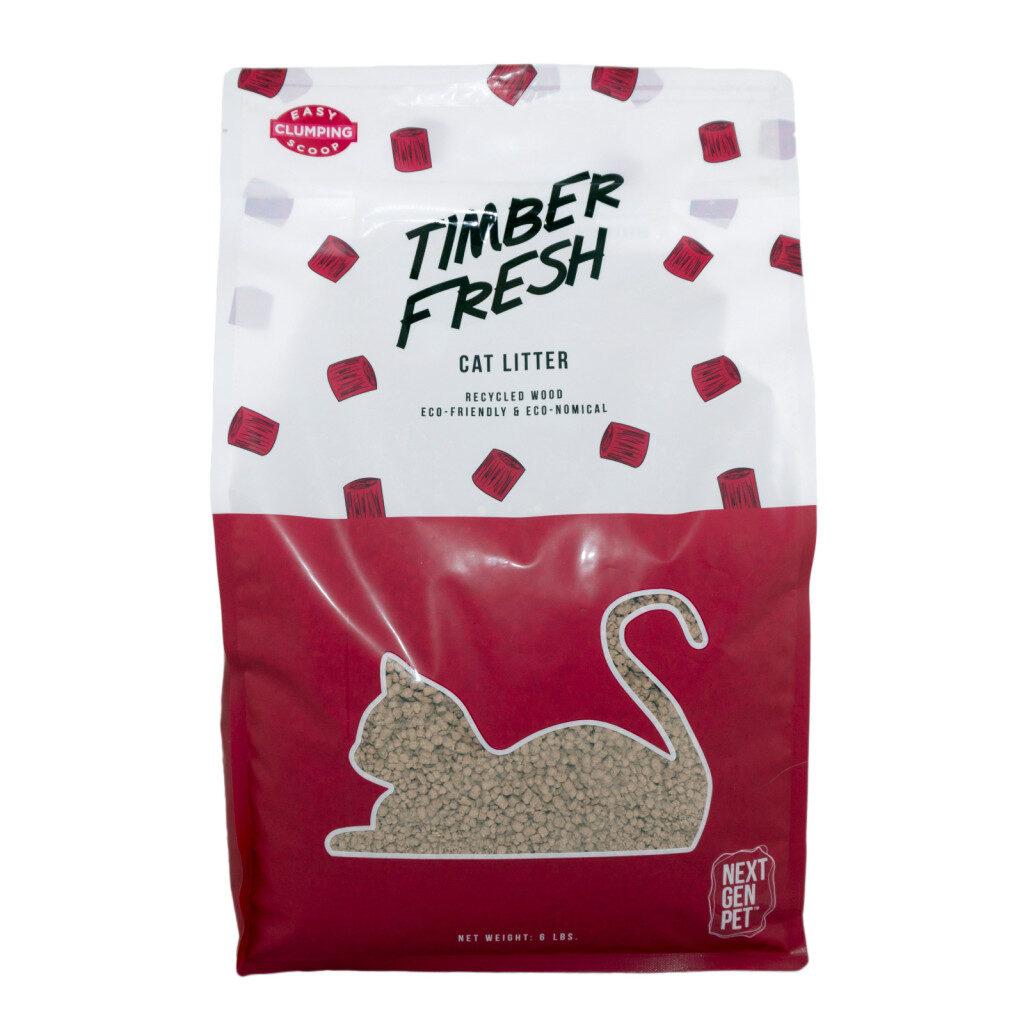 An image of Next Gen International Corp - Timber Fresh Litter (6lbs)(Bag)