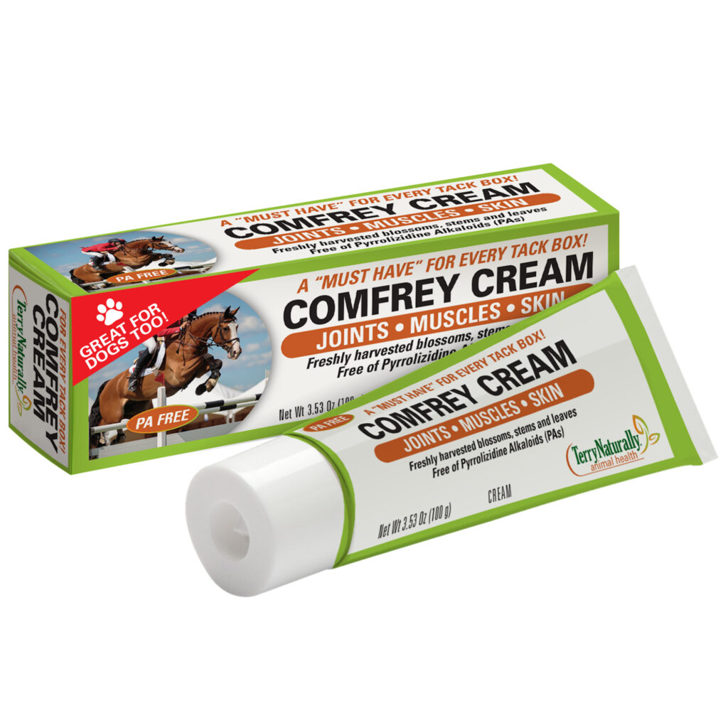 An image of Terry Naturally Animal Health, a EuroPharma brand – Comfrey Cream
