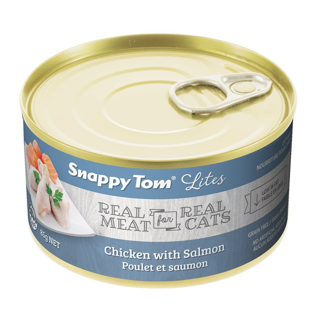 An image of Snappy Tom Pet Supply - Snappy Tom Lites Chicken with Salmon