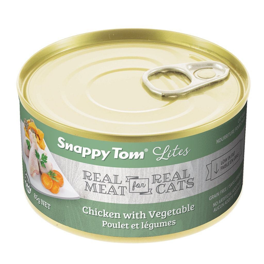 An image of Snappy Tom Pet Supply - Snappy Tom Lites Chicken with Vegetable