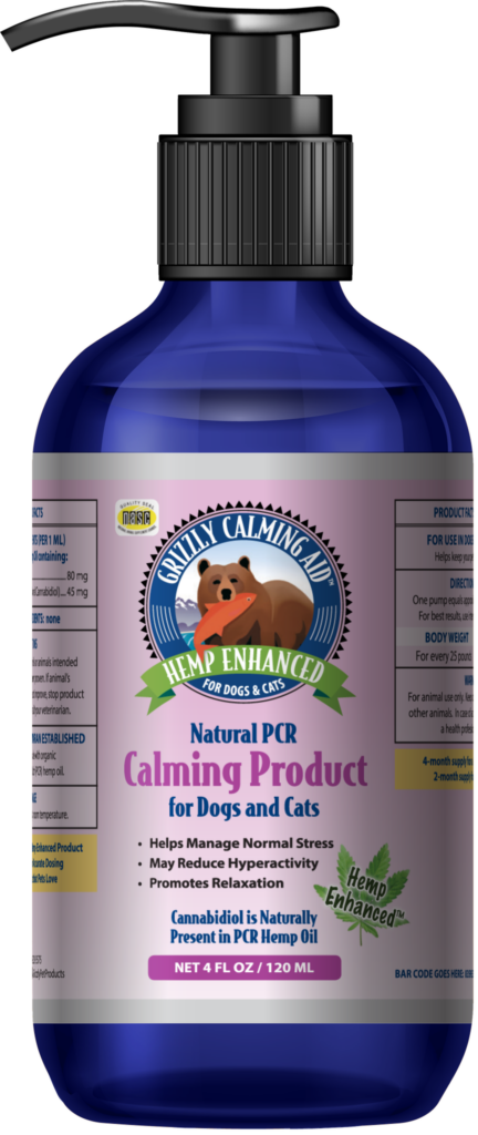 An image of Grizzly Pet Products - Grizzly Calming Aid - Hemp Enhanced