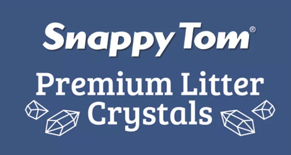 Snappy Tom Crystal Cat Litter Logo Image