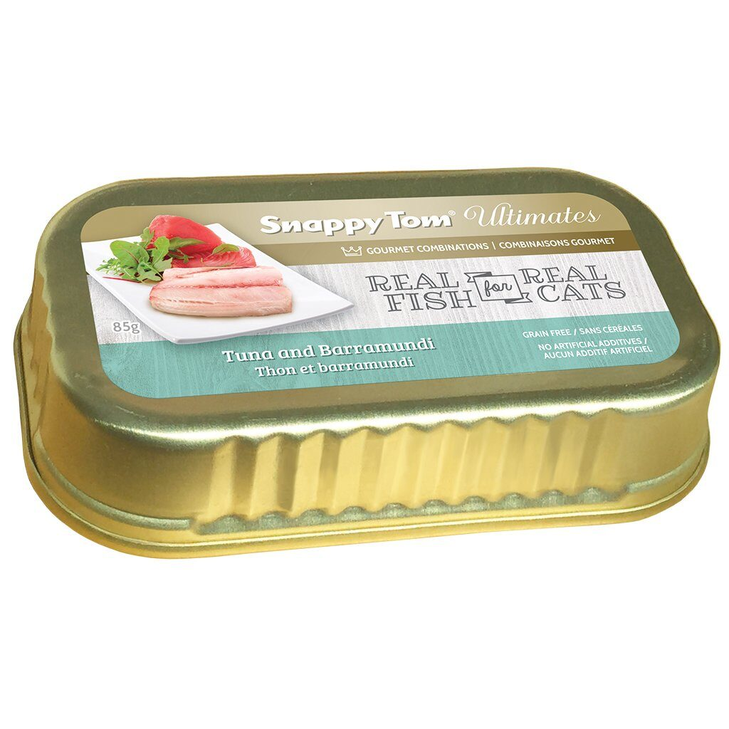 An image of Snappy Tom Pet Supply - Snappy Tom Ultimates Tuna and Barramundi