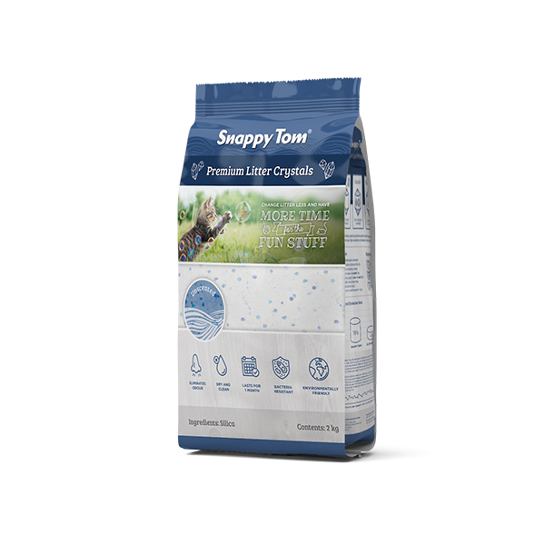 An image of Snappy Tom Pet Supply - Snappy Tom Crystal Cat Litter (Natural Scent)