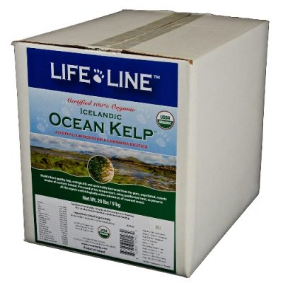 An image of Life Line Pet Nutrition, Inc - ORGANIC OCEAN KELP 20 LB - 20220