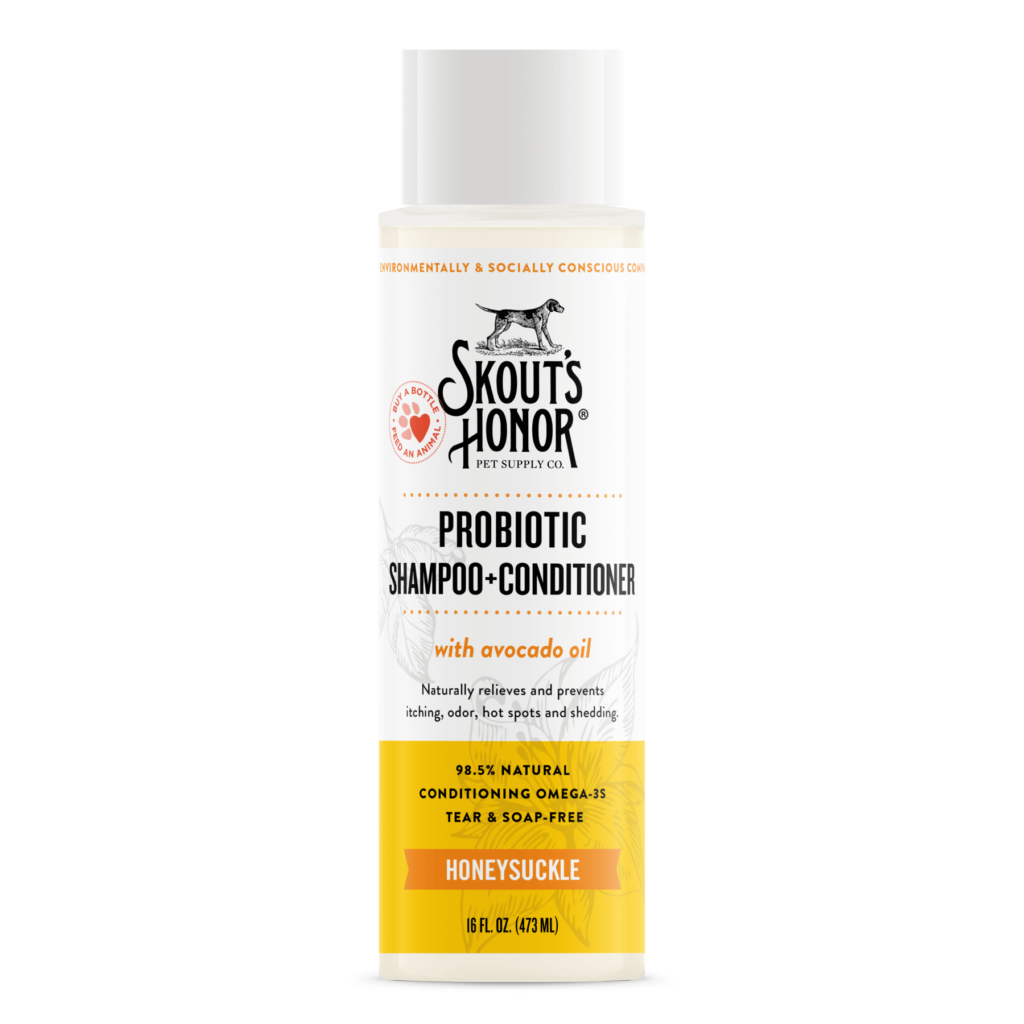 An image of Skout's Honor - Probiotic Shampoo+Conditioner (Honeysuckle)