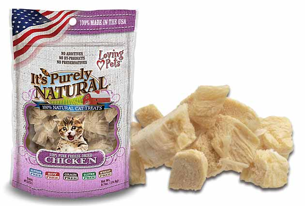 An image of Loving Pets - It's Purely Natural Freeze Dried Chicken Treats