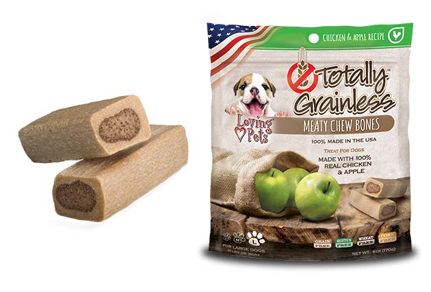 An image of Loving Pets - Totally Grainless Chicken and Apple Bones