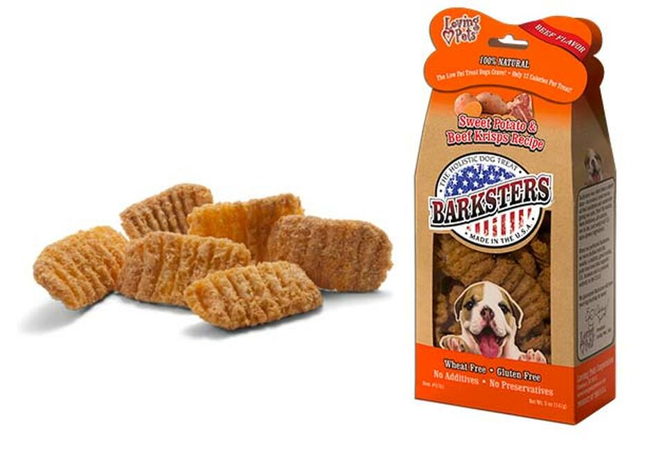 An image of Loving Pets – 5 oz. Barksters Sweet Potato & Beef