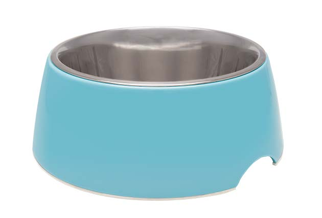 An image of Loving Pets – Retro Bowl – Electric Blue