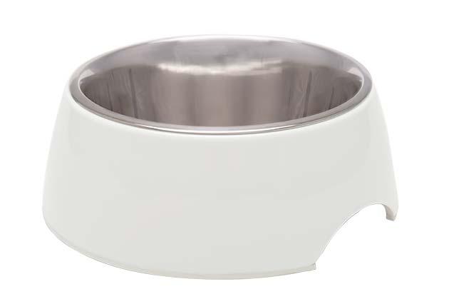 An image of Loving Pets - Retro Bowl - Ice White