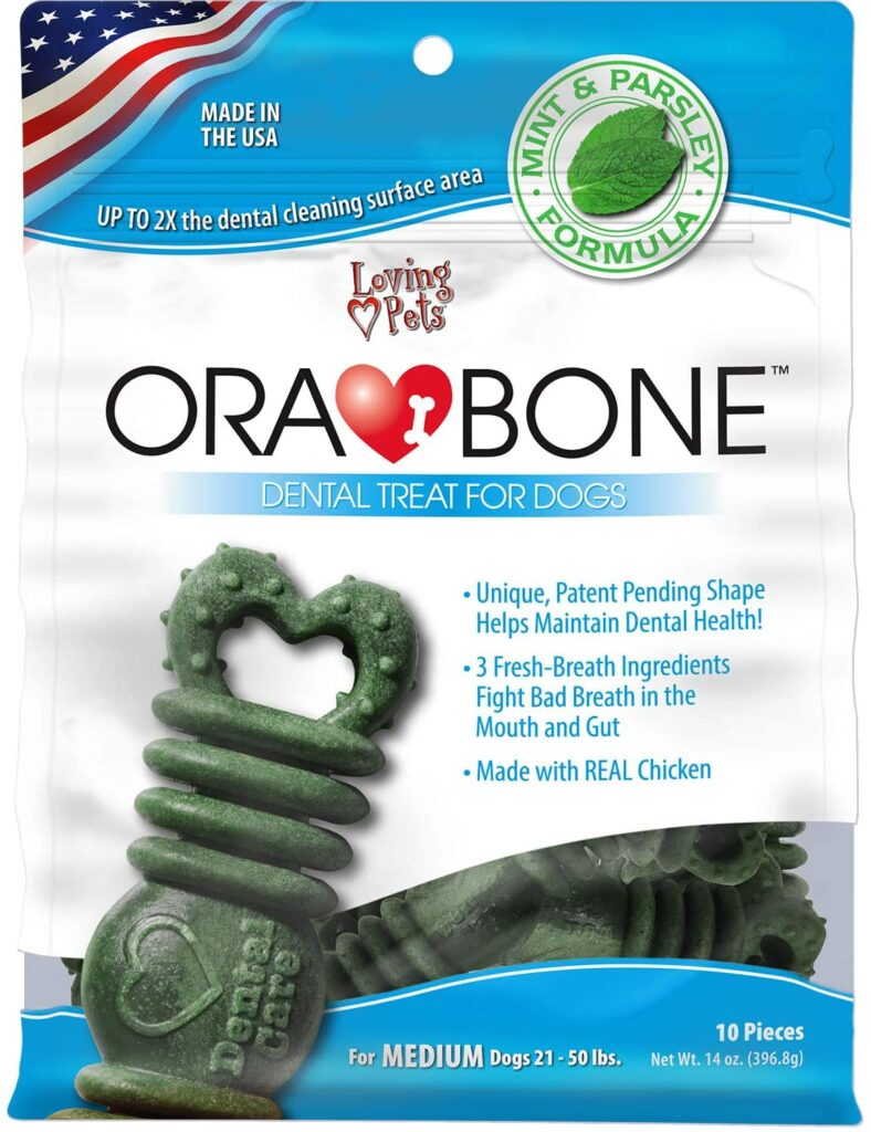 An image of Loving Pets - Orabone Dental Treats (14-15 oz. Bag)