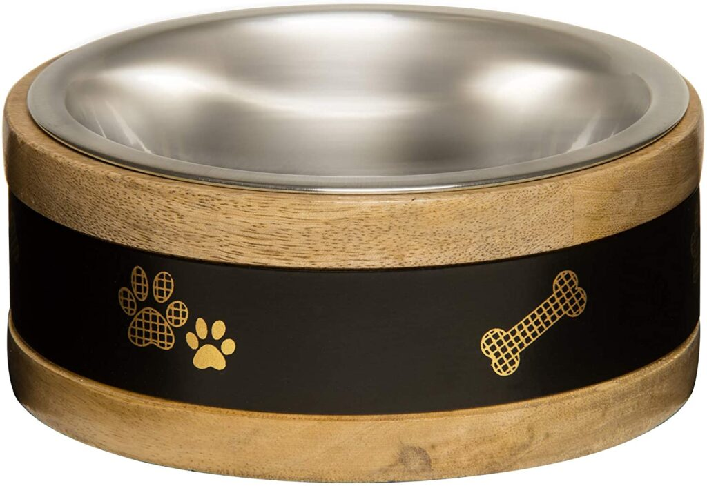 An image of Loving Pets - Wooden Ring Bowl