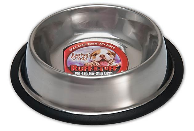 An image of Loving Pets – Ruff N' Tuff Traditional No-Tip Dish