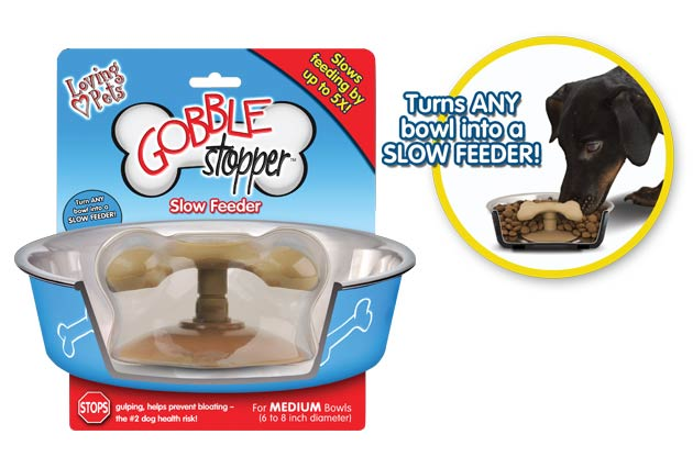 An image of Loving Pets - Gobble Stopper Slow Feeder