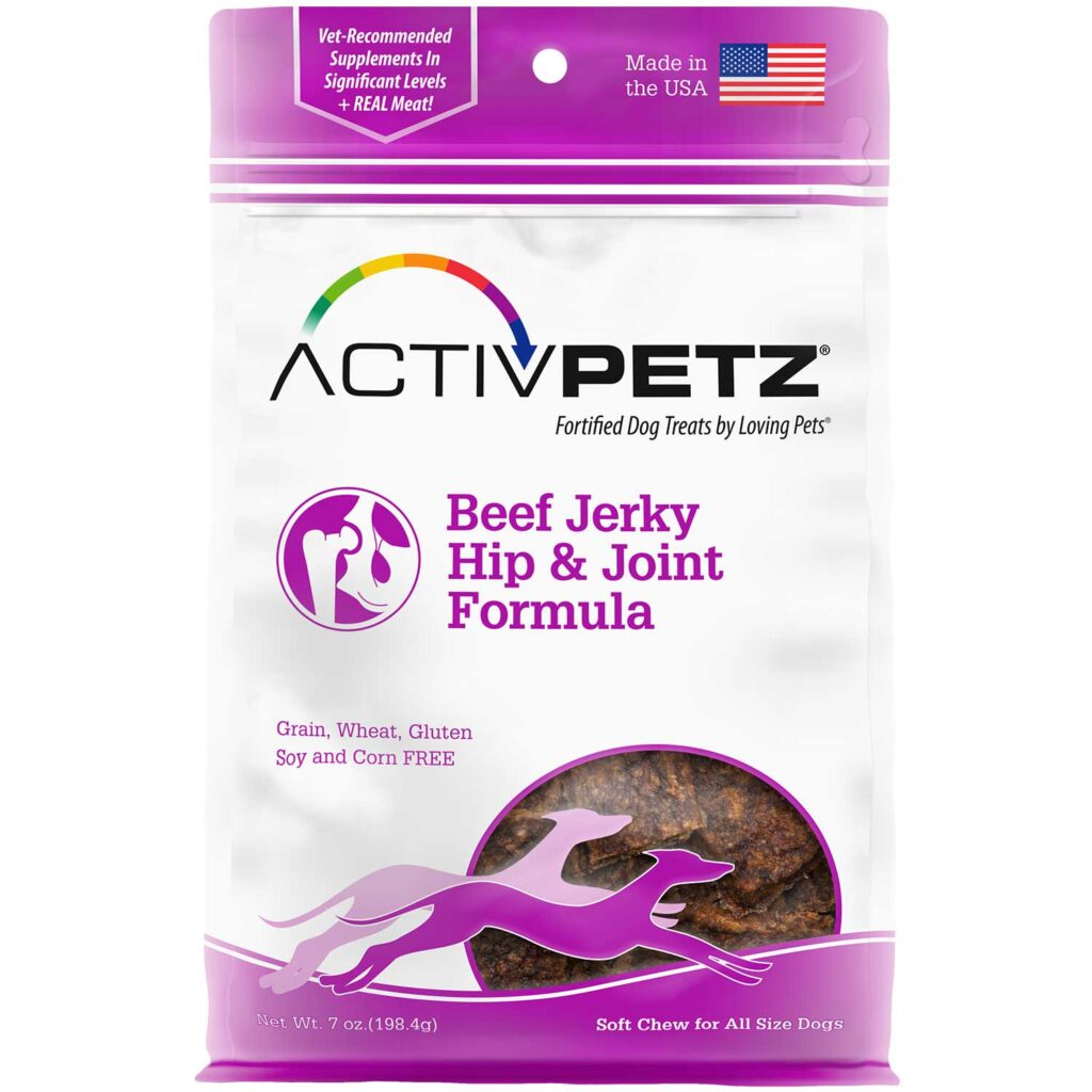 An image of Loving Pets – Activpetz Beef Jerky Hip & Joint Formula