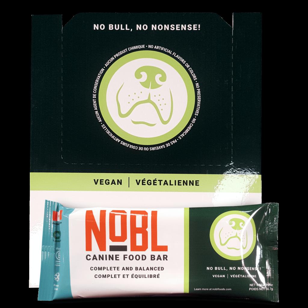 An image of Guardian Pet Food Company - NOBL Canine Food Bar - Vegan