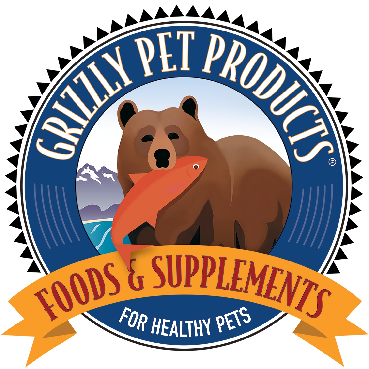 Grizzly Pet Products Logo Image