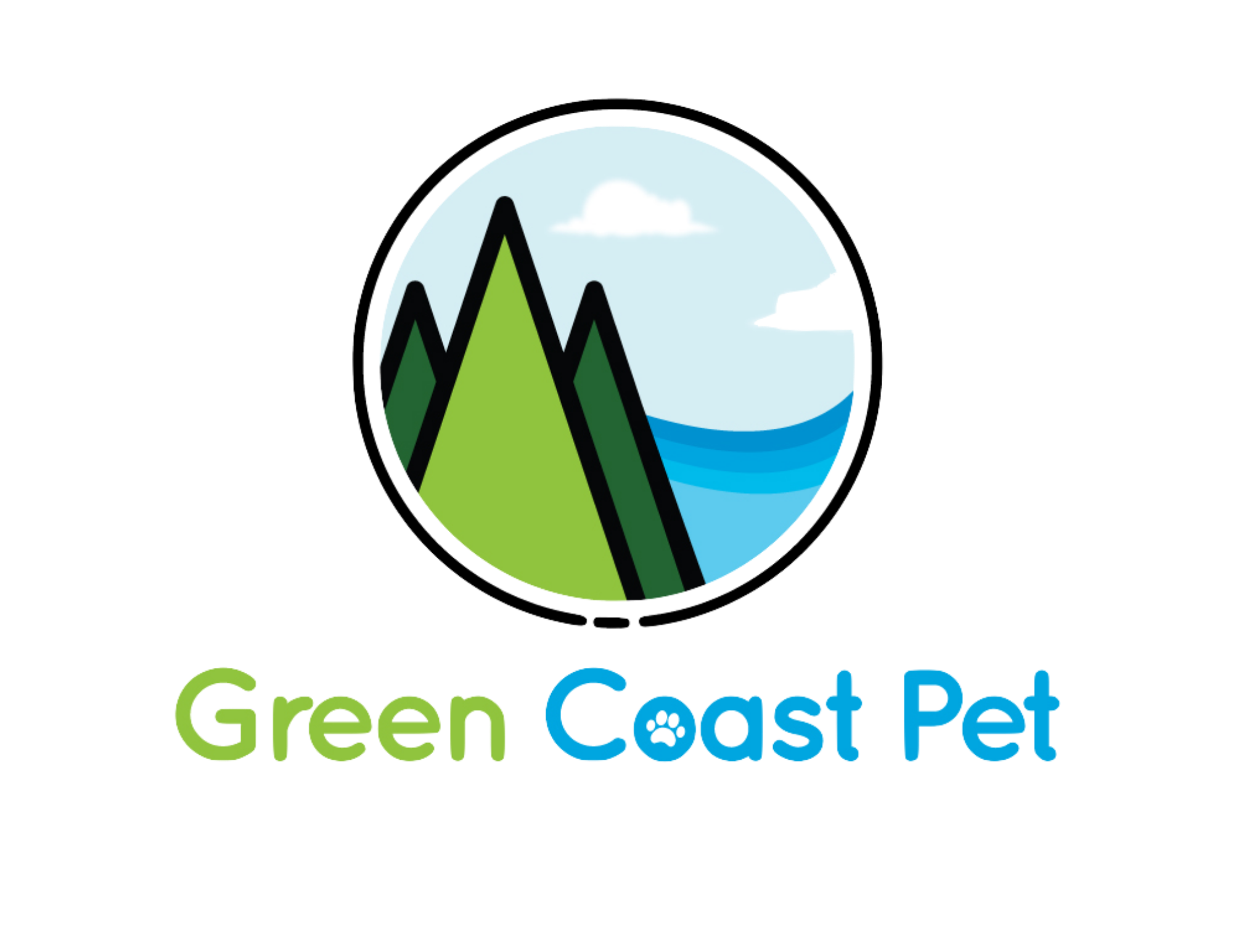 Green Coast Pet Logo Image