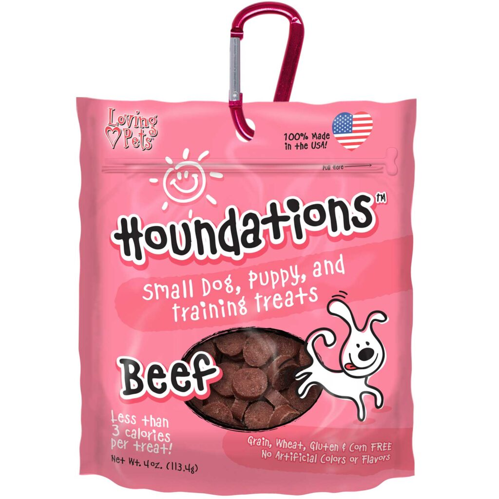An image of Loving Pets - Houndations Training Treats - Beef