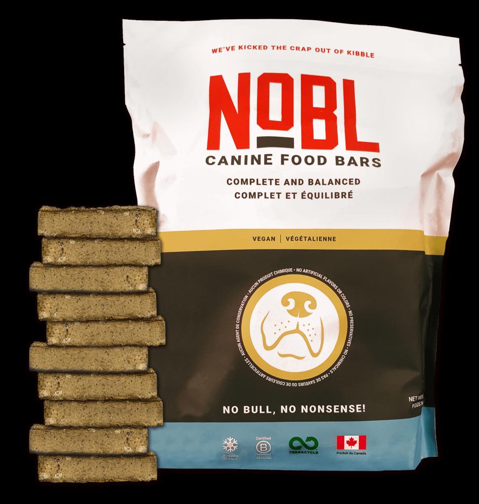 An image of Guardian Pet Food Company - NOBL Canine Food Bar -  Vegan 10pack