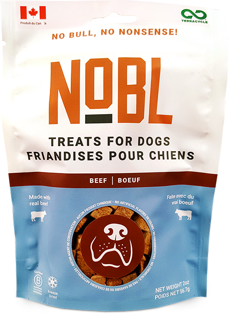 An image of Guardian Pet Food Company - NOBL Treats for Dogs - Beef