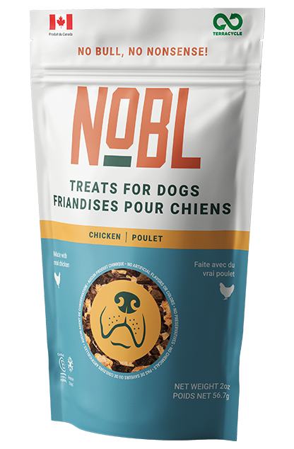 An image of Guardian Pet Food Company – NOBL Treats for Dogs – Chicken