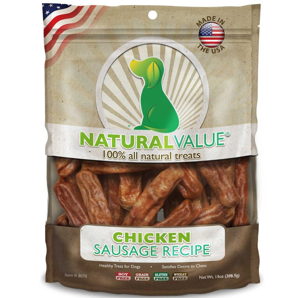 An image of Loving Pets - Natural Value Soft Chew Chicken Sausages