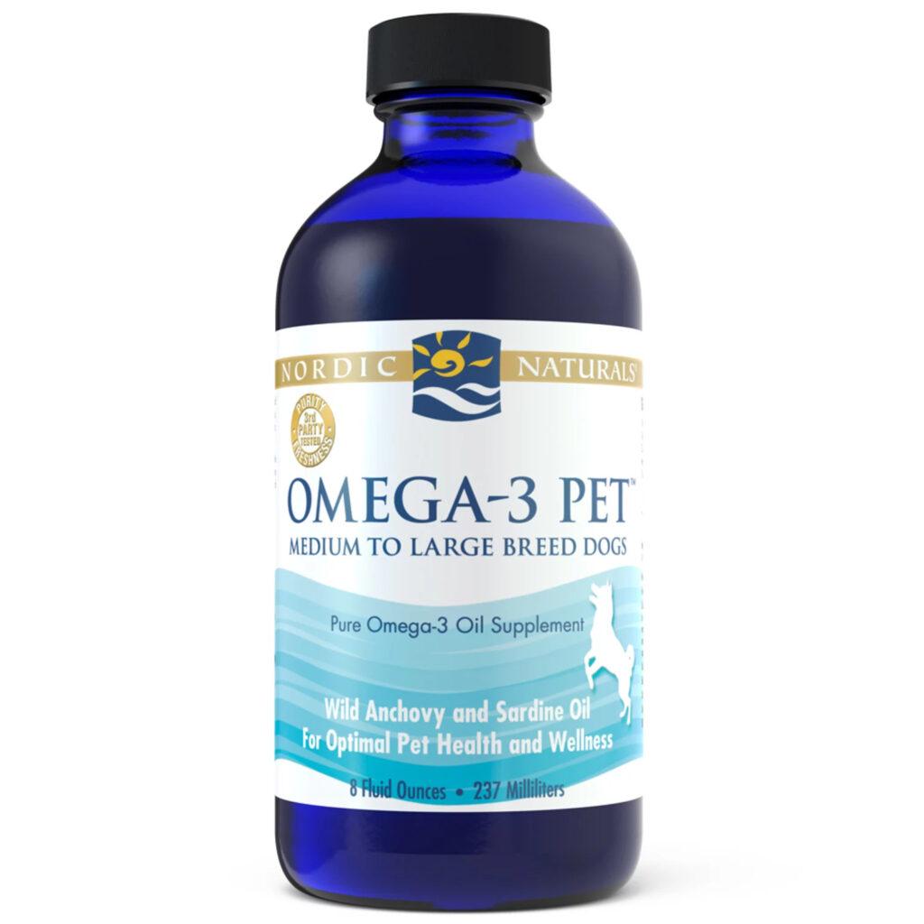 An image of Nordic Naturals - Omega-3 Pet, 8oz