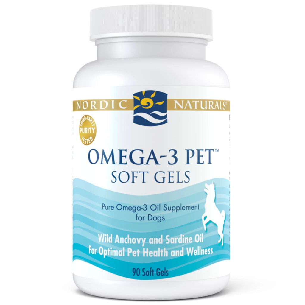 An image of Nordic Naturals - Omega-3 Pet, 90ct
