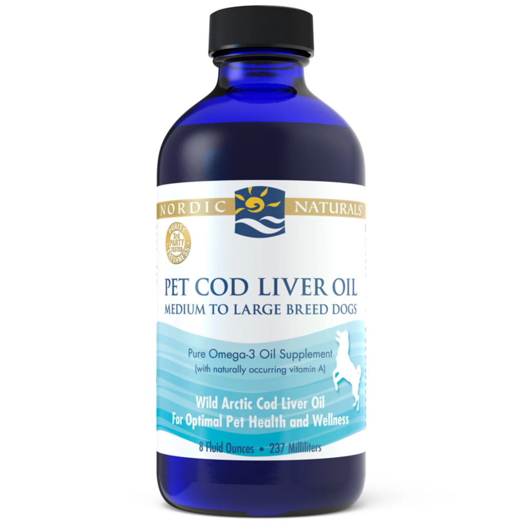 An image of Nordic Naturals - Pet Cod Liver Oil, 8oz