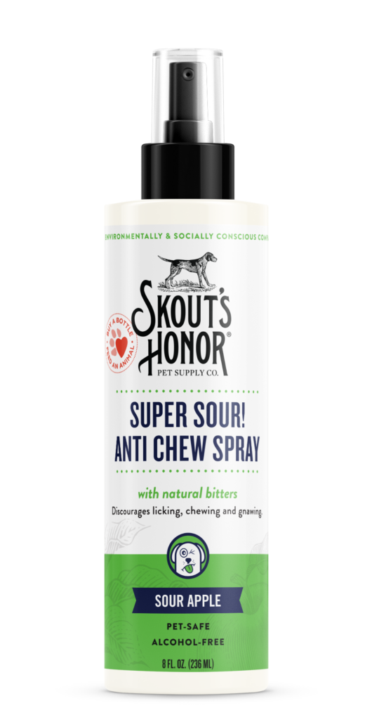 An image of Skout's Honor - Super Sour Anti Chew Spray (8 oz)