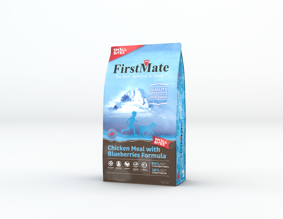 An image of FirstMate Pet Foods - FirstMate Limited Ingredient Chicken with Blueberries Dog - Small Bites 5lb