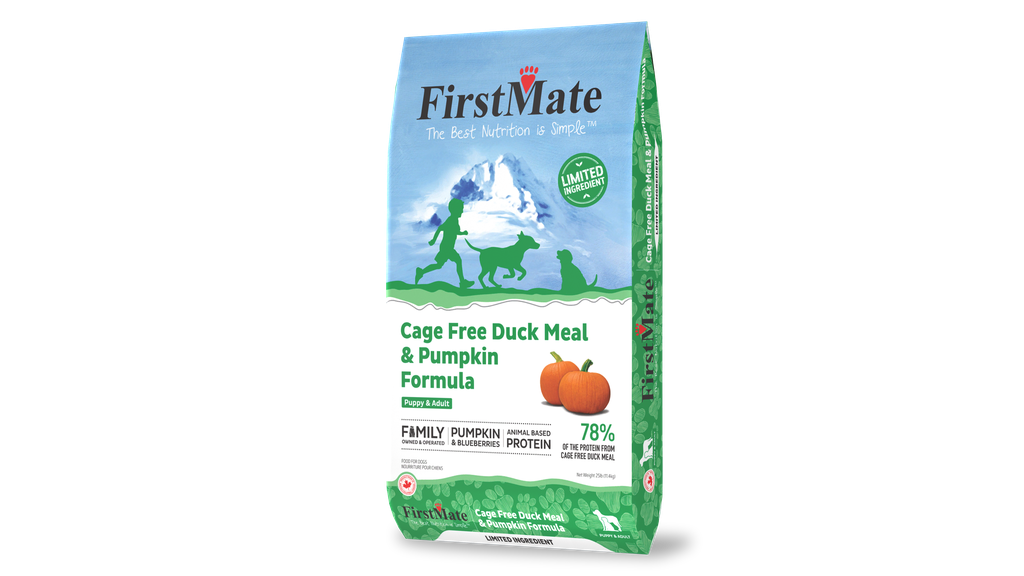An image of FirstMate Pet Foods - FirstMate Limited Ingredient DUCK & Pumpkin Dog 25lb