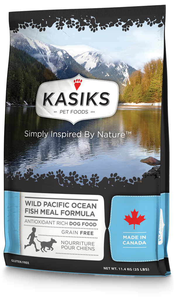 An image of FirstMate Pet Foods - Kasiks Wild Pacific Ocean Fish 25lb