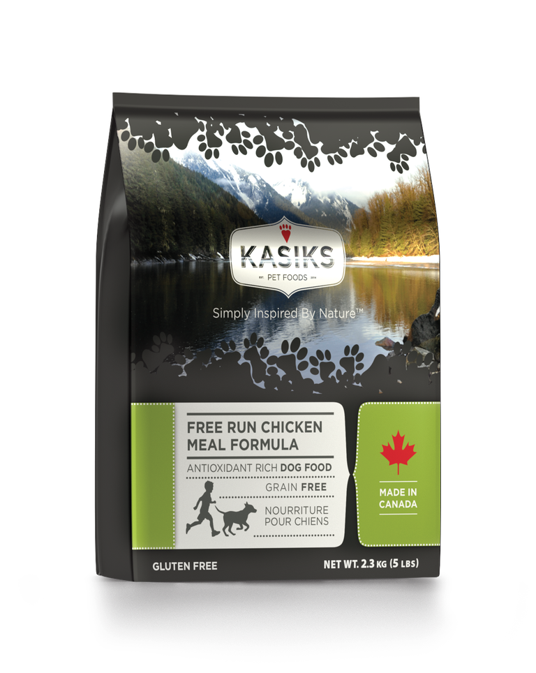 An image of FirstMate Pet Foods – Kasiks Free Run Chicken 5lb
