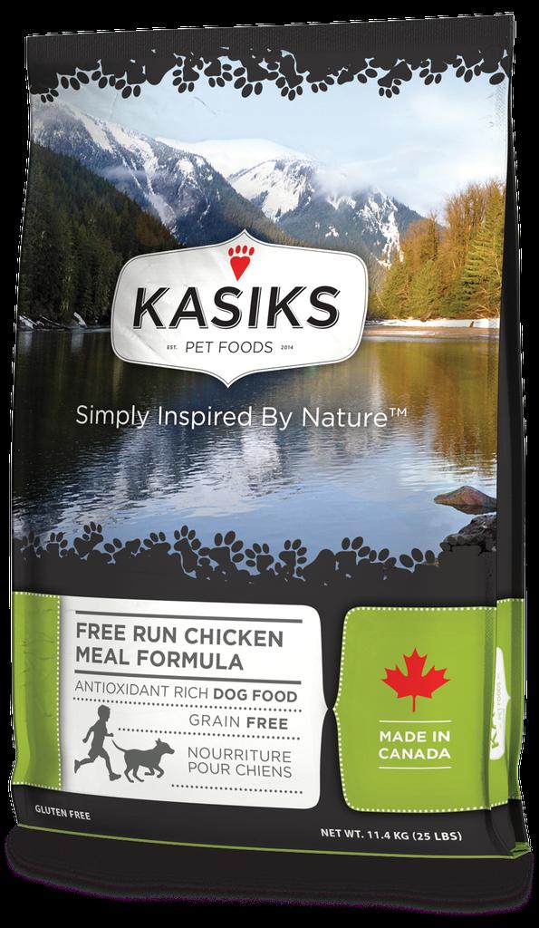 An image of FirstMate Pet Foods - Kasiks Free Run Chicken 25lb