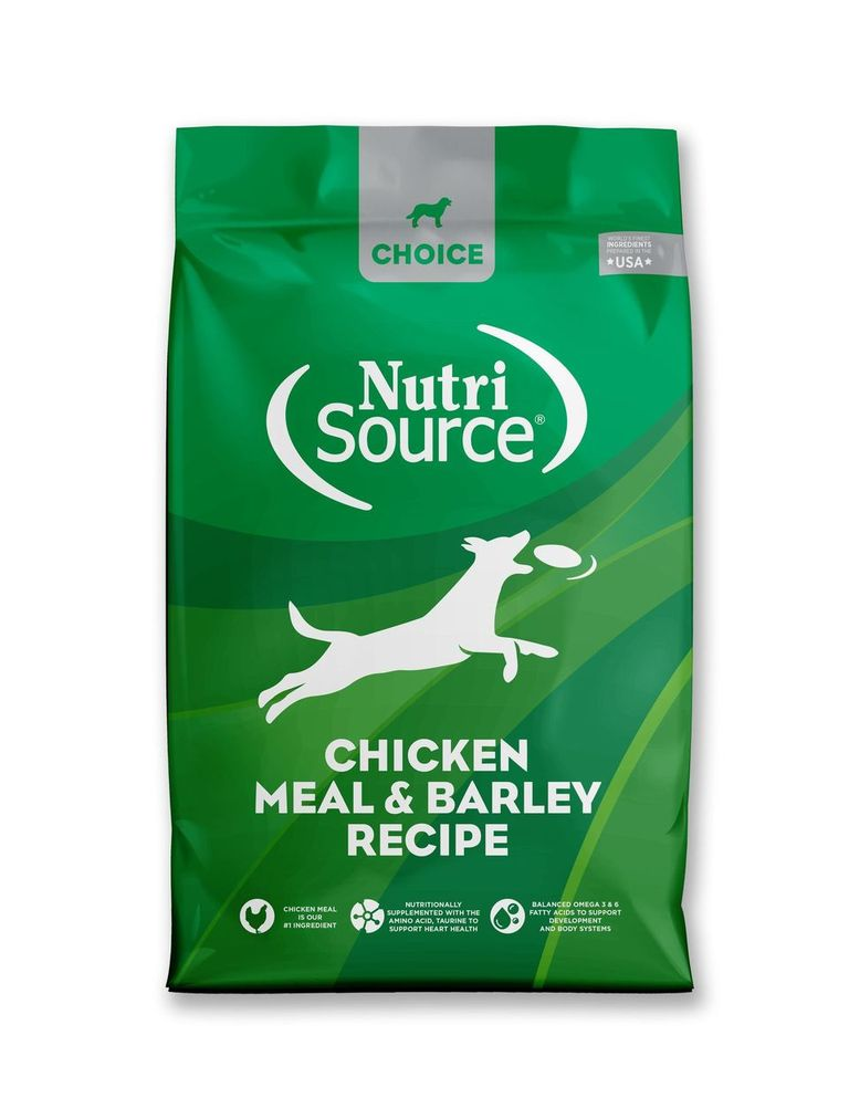 An image of Tuffy's Pet Foods - NutriSource Choice - Chicken Meal & Barley Dog Food (8 / 5 Lbs.)