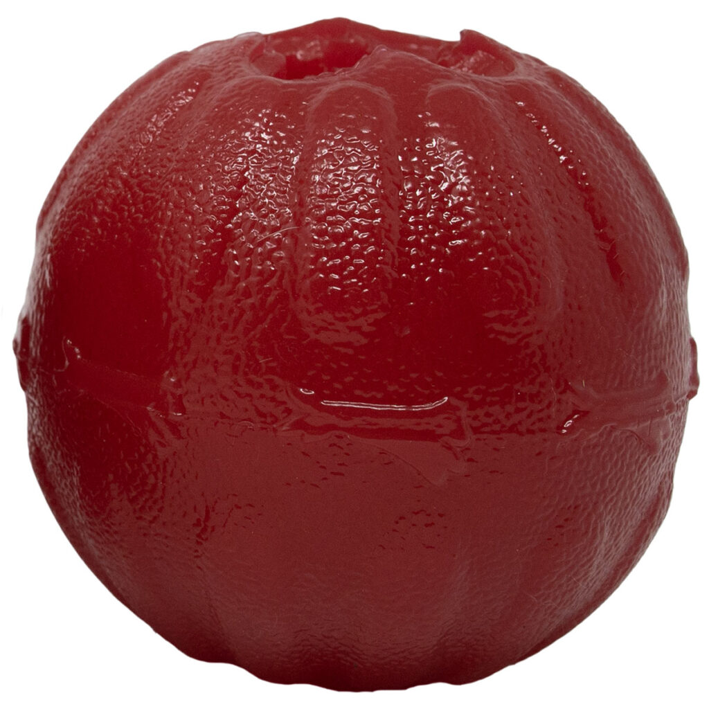 An image of Starmark Pet Products - Treat Dispensing Bacon Ball 2.5in