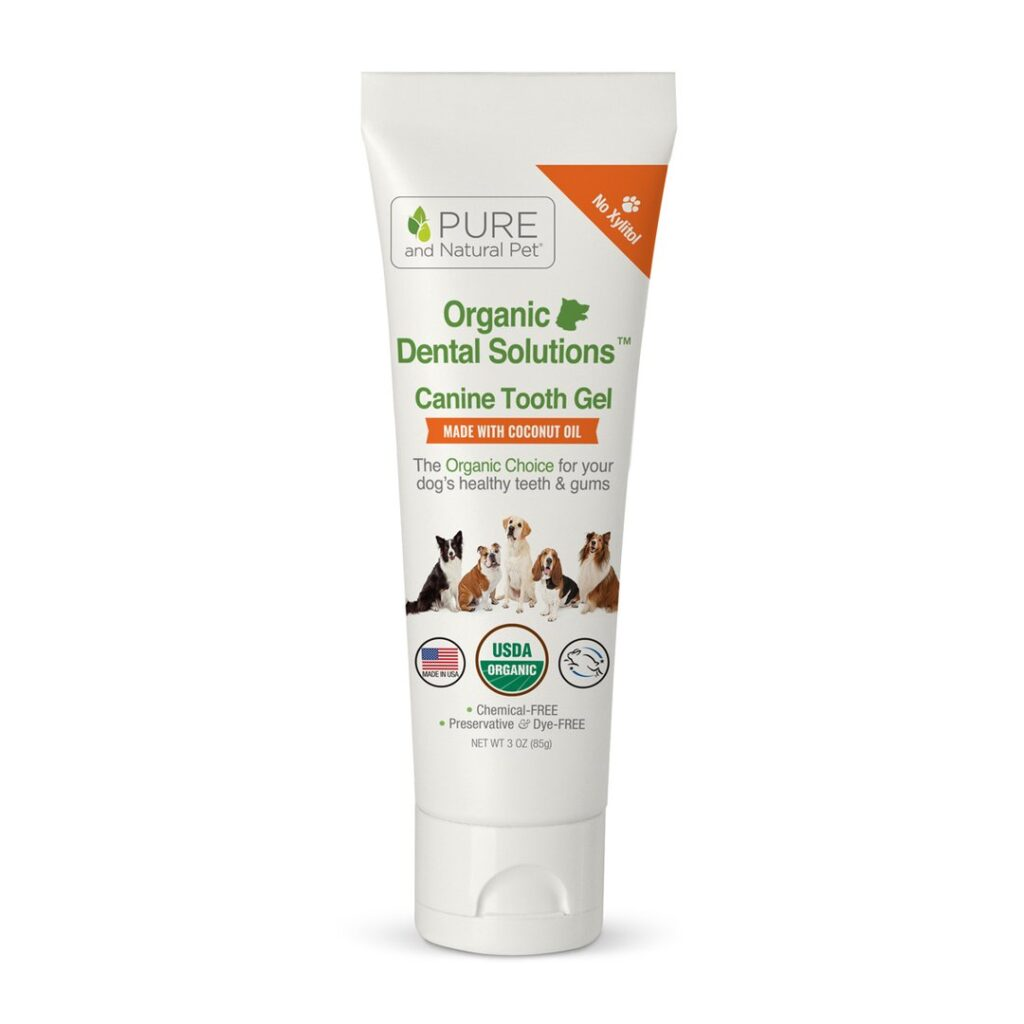 An image of Pure and Natural Pet® - Organic Dental Solutions Plaque & Tartar Fighting Gel