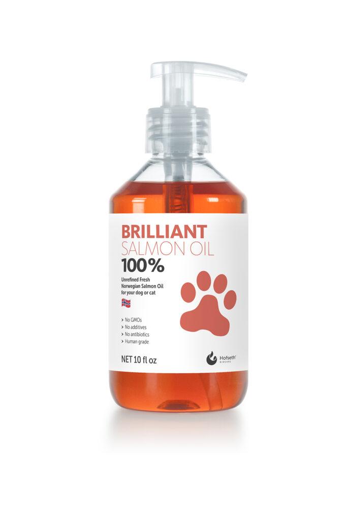 An image of Brilliant  Salmon Oil - Brilliant Salmon Oil 10 oz bottle