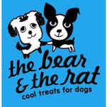 The Bear & The Rat: Cool Treats for Dogs Logo Image
