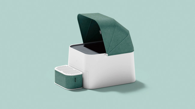 PLUTO's New Litter Box