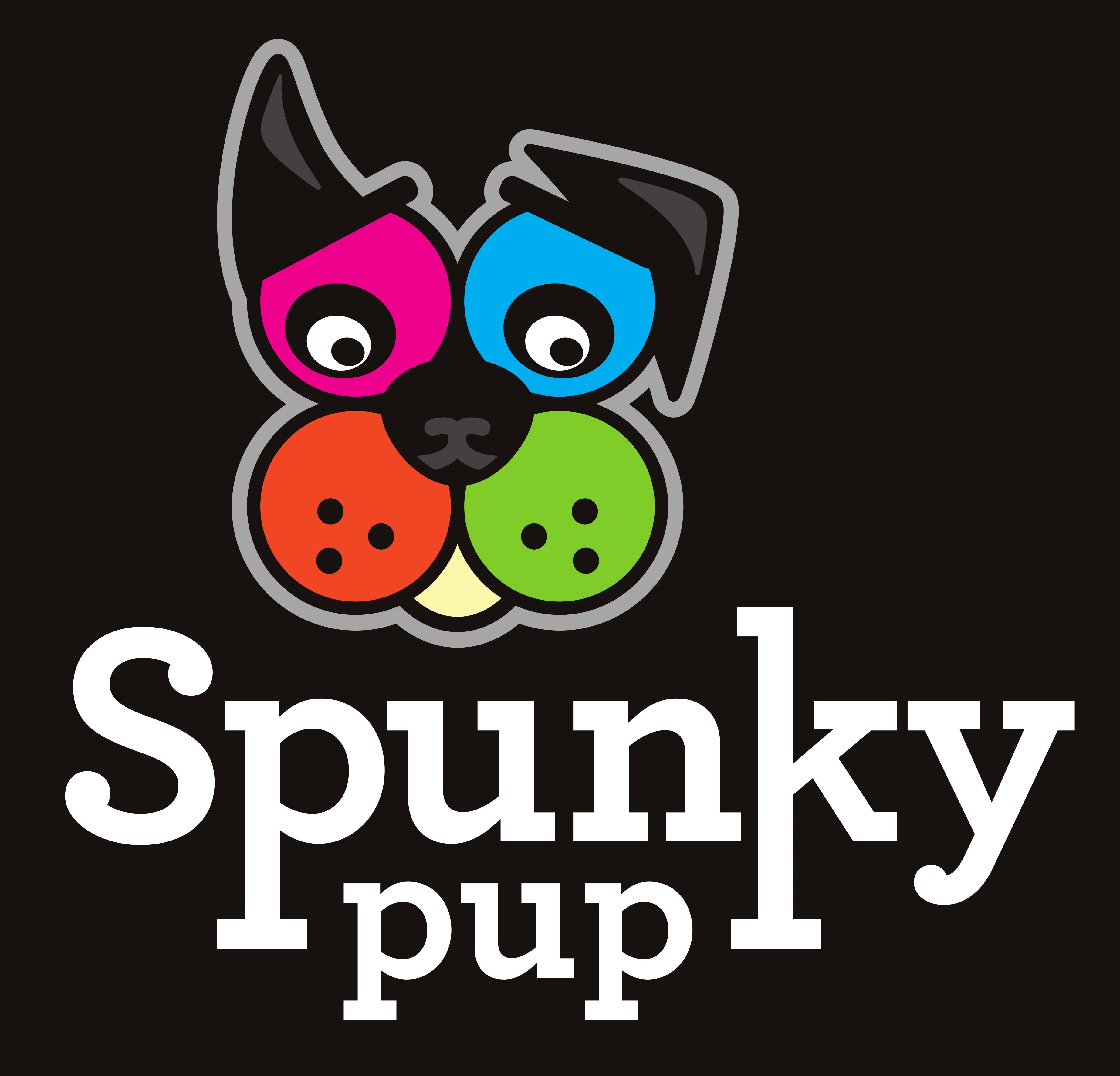 Spunky Pup Dog Toys Logo Image