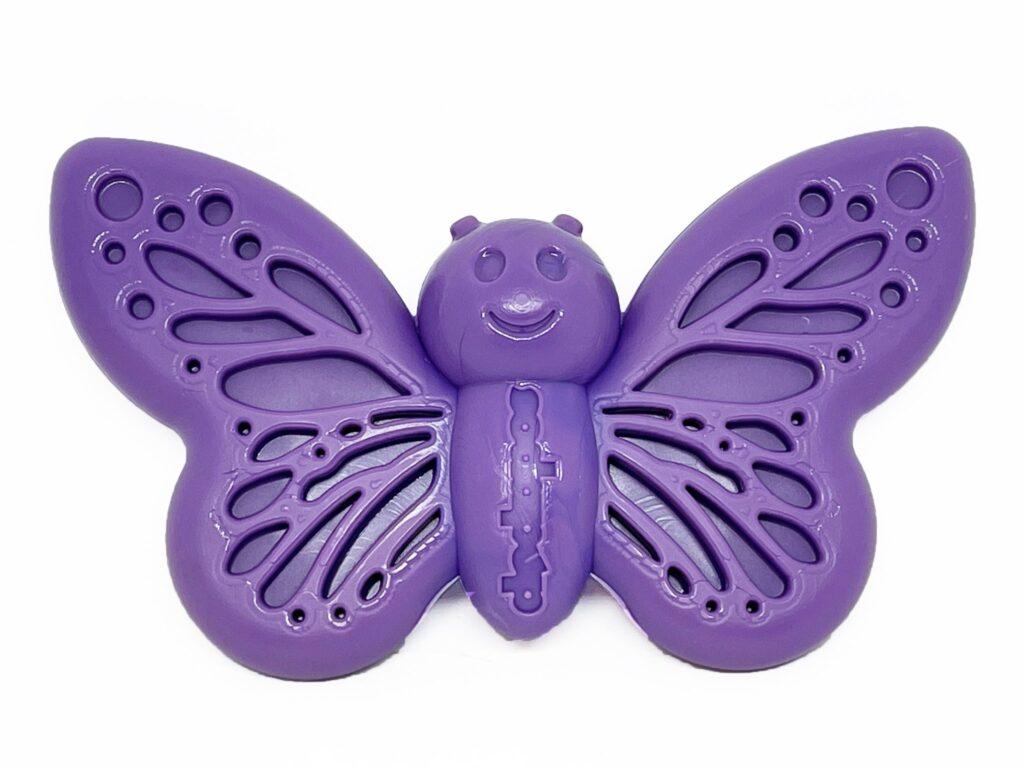 An image of SodaPup - True Dogs, LLC - SP Nylon Butterfly - Purple